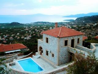 Luxury villa in Stoupa with stunning sea views - Stoupa vacation rentals