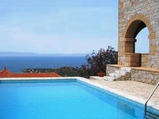 Luxury villa in Stoupa with stunning sea views - Stoupa vacation rentals