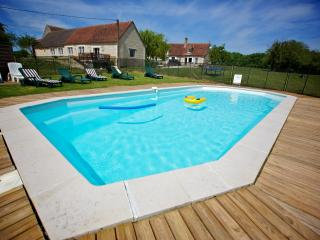 Domaine de Matounet 1, heated pool on 10 Acres. - Loches vacation rentals