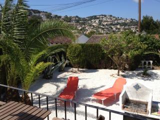 Casa del Rubio: Moraira holiday villa, golf nearby - Moraira vacation rentals