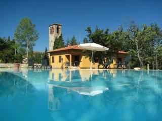 Tuscan apartment rentals in large villa with beautiful shared pool, private gardens and balconies - Barberino Di Mugello vacation rentals