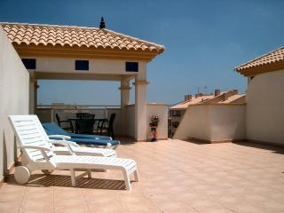 Luxury Penthouse with  Pool, WiFi, Sky TV, Beach - Mar de Cristal vacation rentals