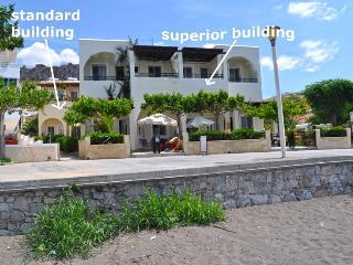 Haraki mare studios for 1-3p. Standard Groundfloor side sea & garden view - Haraki vacation rentals