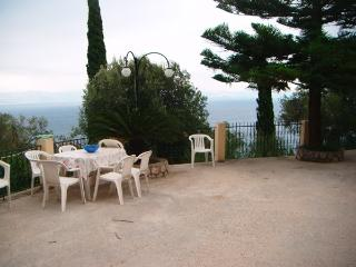 Cozy 3-bedroom villa with amazing sea-view - Benitses vacation rentals