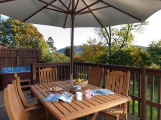 Copper Beech Lodge in Fife with Private Hot Tub - Cupar vacation rentals