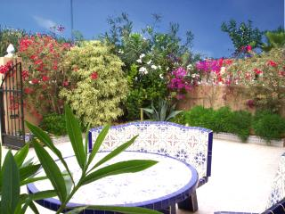 Modern 3 bed house with pretty garden at the beach - Cartagena vacation rentals