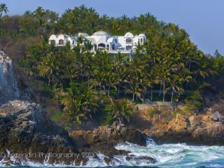 5 STAR DREAM VILLA W/CHEF RIGHT ON PACIFIC OCEAN - Manzanillo vacation rentals