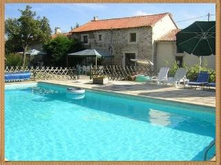 Spacious Farmhouse Barn with Internet Access and Swing Set - Chef-Boutonne vacation rentals