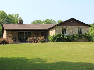 Luxury 4 BR Stone House on 25 ac near town & gorge - Fayetteville vacation rentals