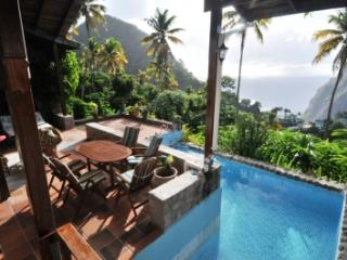 Hermitage Terrace: Piton and Ocean views - Soufriere vacation rentals