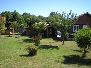 Nice Chalet with Internet Access and Shared Outdoor Pool - Saint-Julien-en-Born vacation rentals