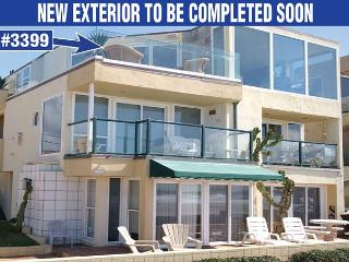 Sweeping oceanfront penthouse! Floor to ceiling glass for amazing views! - Pacific Beach vacation rentals