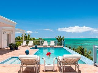 Luxury 4-Bedroom Oceanfront Villa private pool - Providenciales vacation rentals