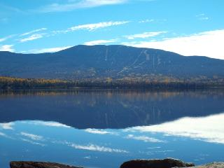 Beautiful lakeside cabin with scenic mountain view - Western Maine vacation rentals