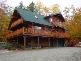Highland Lake Access Authentic Log Home - Western Maine vacation rentals
