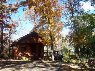 Private secluded romantic cabin for couples - Oklahoma vacation rentals