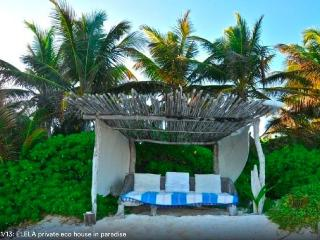Private Eco~Luscious Cabanas on Beach - Tulum vacation rentals