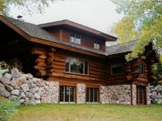 PET FRIENDLY  LOG HOME, ON 2 PRIVATE, WOODED ACRES - Star Lake vacation rentals