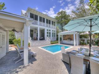 The Sandcastle, a Luxury Watercolor Home, Private Lot & Pool,White Coastal Decor - Santa Rosa Beach vacation rentals