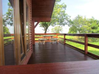 Detached timber lodge with outstanding views - Chelynch vacation rentals