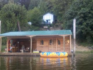 Charming Lakefront Home with Separate Guest House and Furnished Boathouse - North Bend vacation rentals
