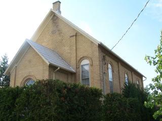 1869, charming yellow brick church- SummitHaven B & B - Burlington vacation rentals