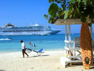 Ocho Rios Beach-front resort condo- 7th night free - Jamaica vacation rentals