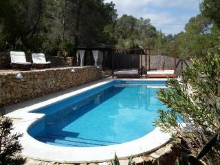 5 bedroom House with Private Outdoor Pool in Cala Tarida - Cala Tarida vacation rentals