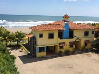 Beachfront Large Spanish Estate. PROMO: BOGO, Car - Pochomil vacation rentals
