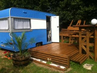 Nice Caravan/mobile home with Internet Access and Trampoline - Pluneret vacation rentals