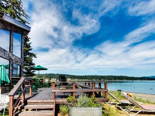 Beach-side home w/ mooring, large deck, & views of Puget Sound! - Lopez Island vacation rentals