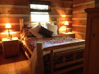 Beautiful Real Log Cabin. Hot tub. Wifi. Fire pit. - Blue Ridge vacation rentals