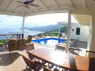 $195 per room, per night, Villa Del Mar on Tortola, BVI is a B&B