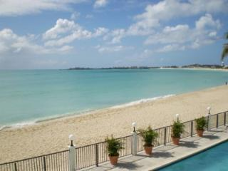 Simpson Bay Beach Condo, located directly on Simpson Bay Beach with common pool - Simpson Bay vacation rentals