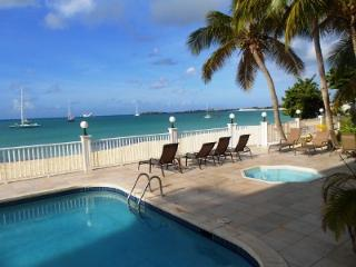 Simpson Bay Beach Condo #2, directly located on Simpson Bay Beach. - Simpson Bay vacation rentals