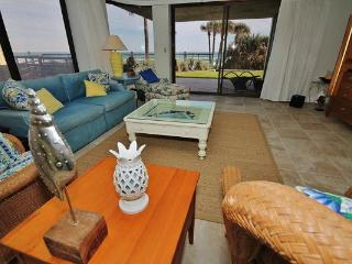 Awesome first floor, designer decorated 3 bdr condo with direct ocean views! - New Smyrna Beach vacation rentals