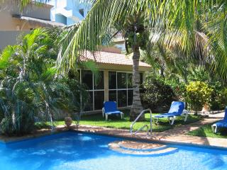 Newly Available! Villa Jardin:  Roomy Pool Side Garden Villa, A Few Steps From The Beach - Akumal vacation rentals