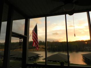 Beautiful waterfront mountain lake condo - Huddleston vacation rentals