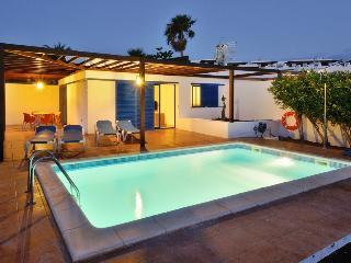 Villa Valentina Private Heated Pool 500 meters from the Sea ,Lanzarote - Playa Blanca vacation rentals