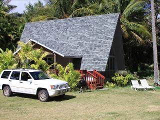 BEACHFRONT COTTAGE WITH FREE JEEP & WI-FI  !!!! - Kaunakakai vacation rentals