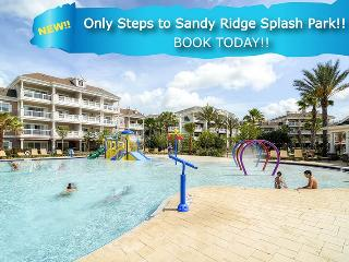 Steps to Splash Park | Ground Floor Condo with Ideal Location in Sandy Ridge, Only Steps to Splash Park & Upgraded Electronics - Kissimmee vacation rentals