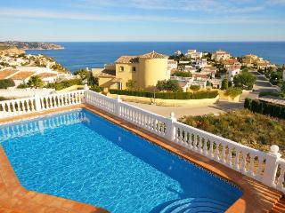 VILLA SOL: stunning seaviews, private pool, aircon - Benitachell vacation rentals