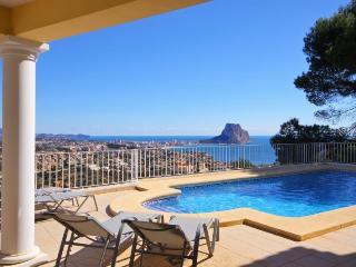 Villa Orion -  Modern villa with superb sea views. - Calpe vacation rentals