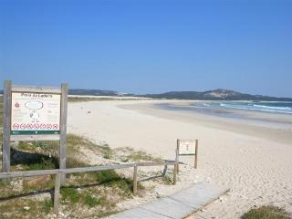 Front. beach apartment , 2 bedrooms+ Garden - Corrubedo vacation rentals