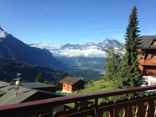 2 bed apt with panoramic views in the Swiss Alps - Villars-sur-Ollon vacation rentals