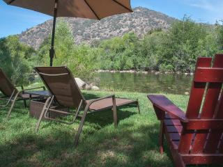 Rustic Cabin on the Main Fork of the Kaweah River - Three Rivers vacation rentals