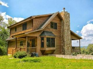 Large Private Mountain Cabin on Acreage with Views - Jonas Ridge vacation rentals