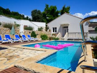 Seafront villa with pool - Molunat vacation rentals