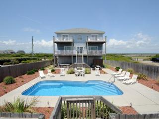Island Drive 3858 Oceanfront! | Private Heated Pool, Hot Tub, Jacuzzi, Internet, Fireplace - North Topsail Beach vacation rentals