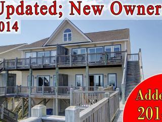 Goldsboro Lane 205 Oceanfront! | Internet, Jacuzzi - North Topsail Beach vacation rentals